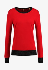 Scotch & Soda - BASIC - Strikkegenser - mars red