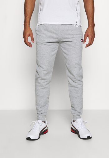 CUFFED TAPE PANT - Träningsbyxor - grey