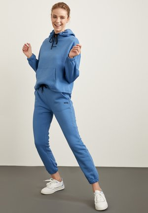 Bluza z kapturem - blue