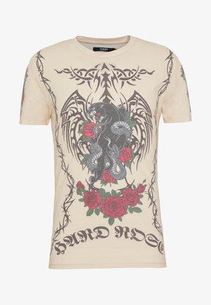TATTOO - T-shirt print - beige