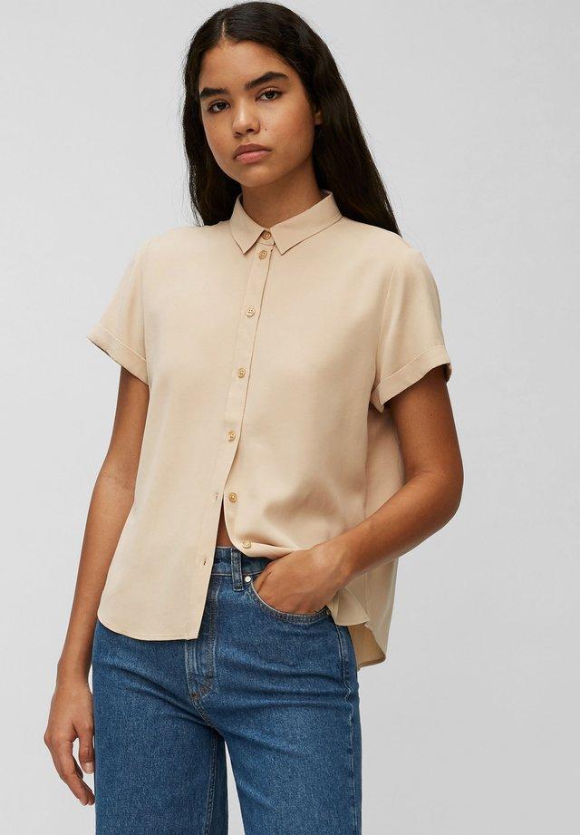Button-down blouse - island beach