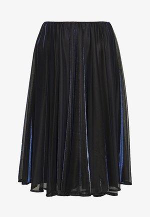 PREMIATO - A-line skirt - midnight blue