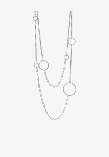 TABITHA OPEN PANZER - Necklace - rhodium plating