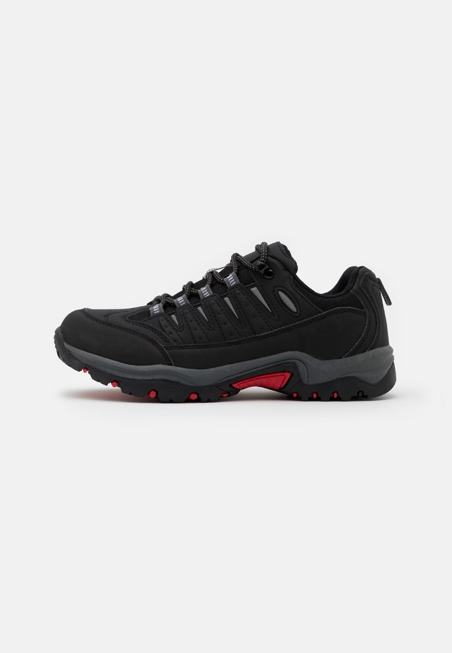 RAYNER - Trainers - black/red