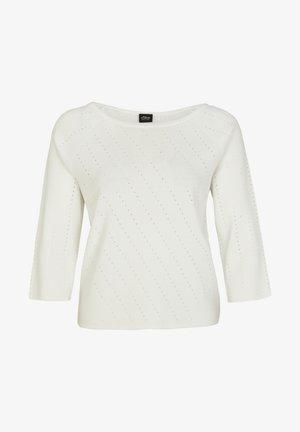 Sweatshirt - soft white