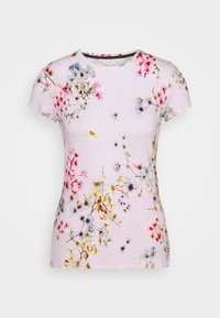 Ted Baker - ROBUN - Print T-shirt - pink - 0