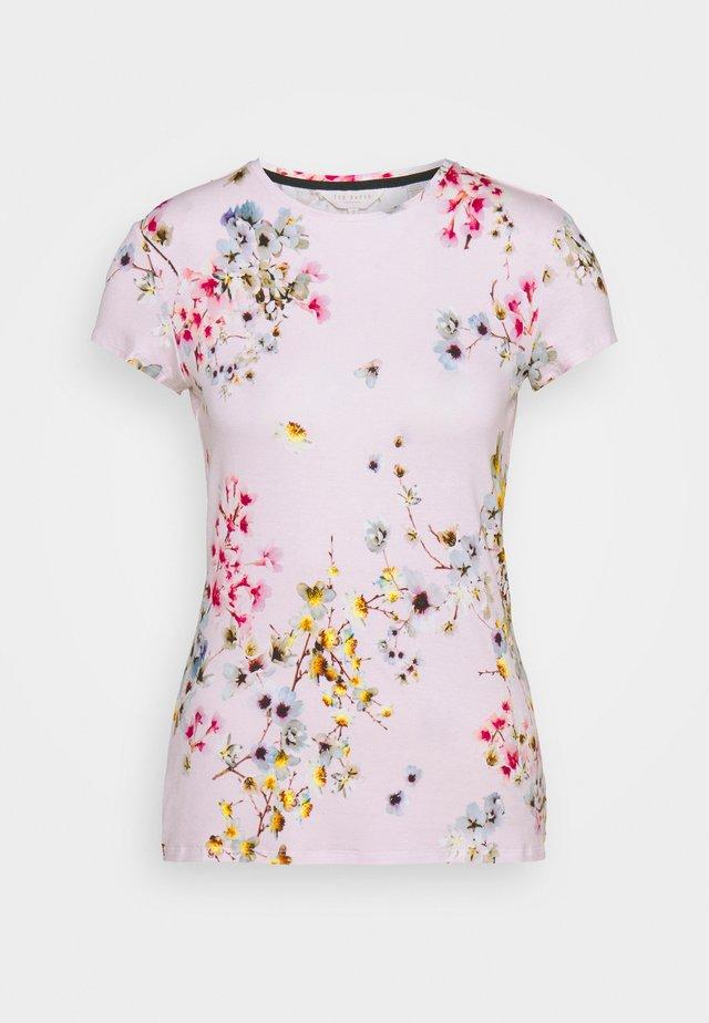 ROBUN - Print T-shirt - pink