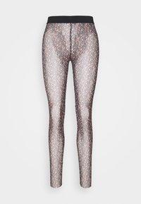 YAS - YASMILANA  - Leggings - Trousers - black - 4