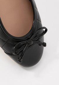 Anna Field - LEATHER BALLET PUMPS - Ballerina - black - 2