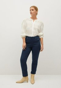 Violeta by Mango - JULIE - Slim fit jeans - donkermarine - 1