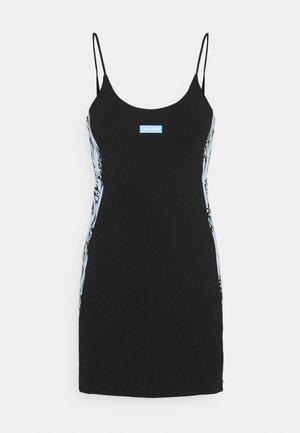 TRIBAL LOVE BLACK SLIP ON DRESS - Vestido informal - black/blue
