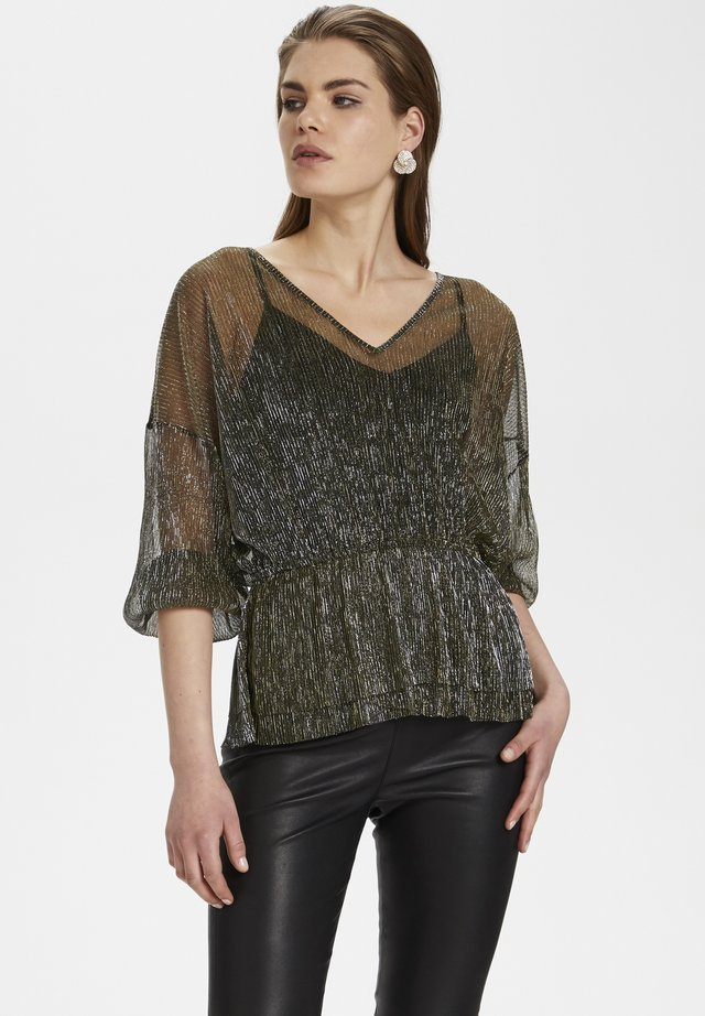 DOMINOKB - Blouse - antique gold
