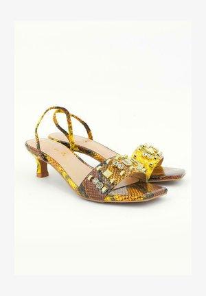BIANCA - Sandals - mustard