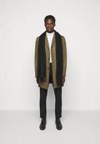 J.LINDEBERG - WOLGER COMPACT MELTON COAT - Classic coat - moss green - 1
