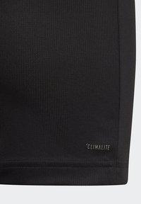 adidas Performance - ALL CAPS T-SHIRT - T-shirts med print - black - 4