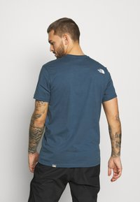 The North Face - MENS SIMPLE DOME TEE - T-shirt basic - blue wing teal - 2