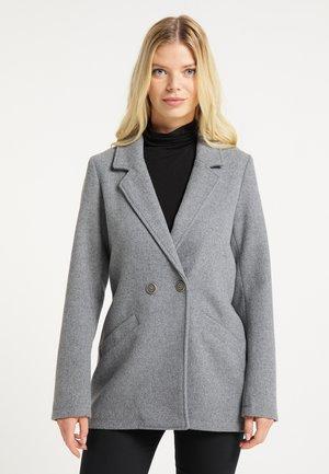 Short coat - hellgrau melange