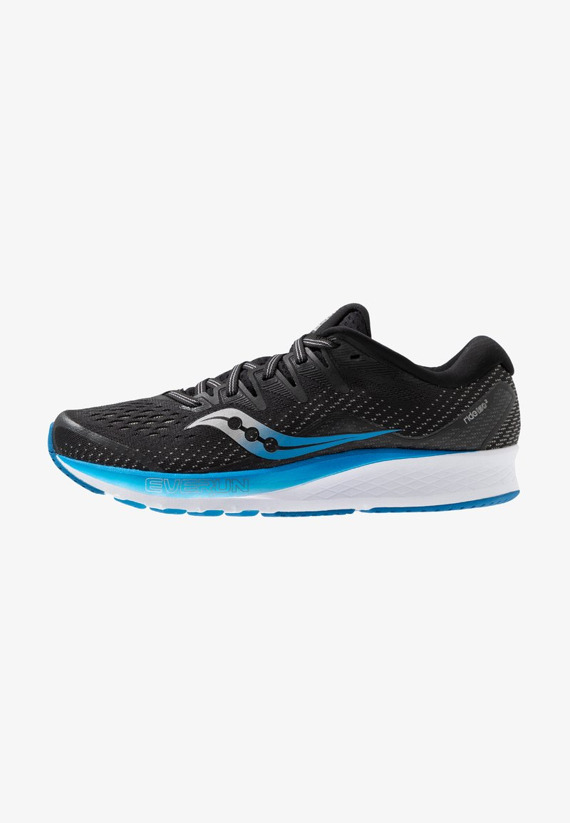 Saucony - RIDE ISO 2 - Neutral running shoes - black/blue