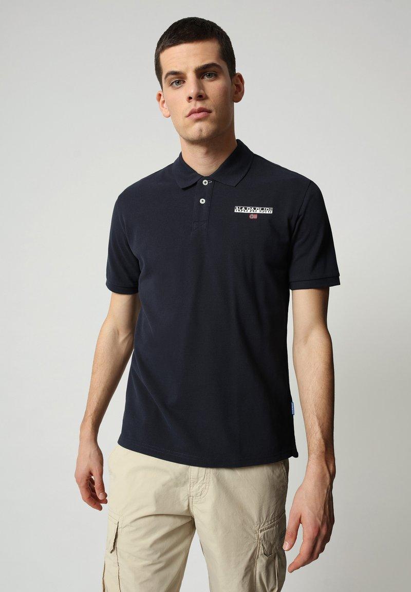Napapijri - E-ICE - Poloshirt - blu marine
