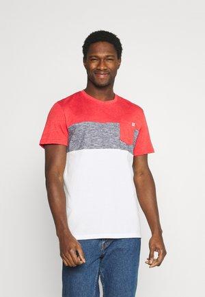 CUTLINE - T-shirt imprimé - powerful red