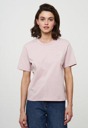 Basic T-shirt - nude rose