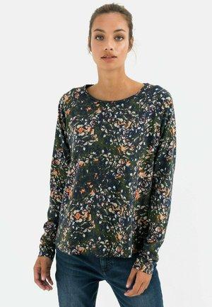 Sweater - aop dark blue