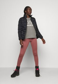 Burton - MULTIPATH LEGGING - Leggings - rose/brown - 1