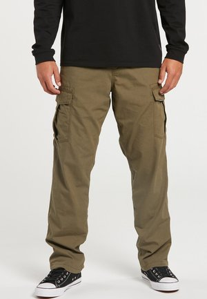 MITER  - Cargo trousers - army green