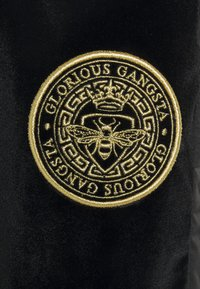 Glorious Gangsta - MATEO ZIP JOGGERS - Pantalon de survêtement - jet black - 2