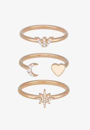 3 PACK - Ring - rose gold-coloured