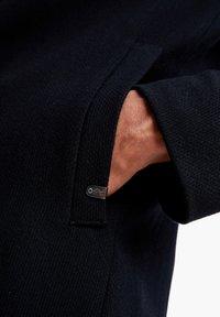 s.Oliver BLACK LABEL - IM CLASSIC SHAPE - Short coat - dark blue melange - 3
