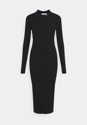 RIANA DRESS - Denní šaty - black