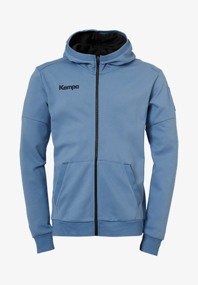 LAGANDA ZIP HOODY - Zip-up hoodie - blau