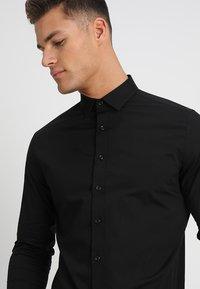 Solid - TYLER - Formal shirt - black - 4