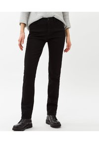 BRAX - STYLE MARY - Slim fit jeans - clean black black - 0