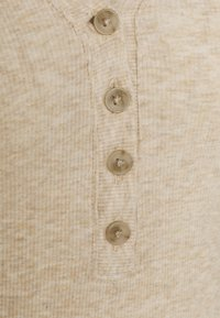 Madewell - SEMI COLON TOP CLEAN - Long sleeved top - heather camel - 2