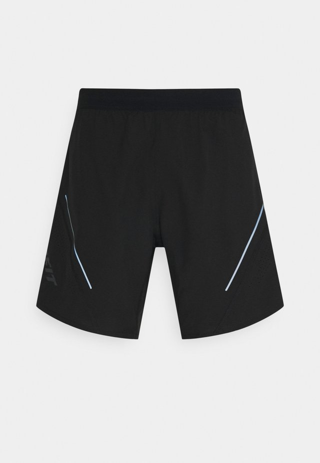ALPINE PRO SHORTS - Short de sport - black out