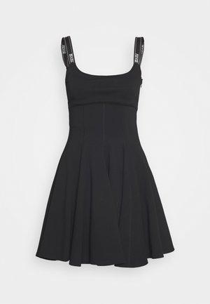 Žerzejové šaty - nero