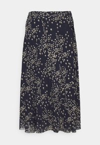 Soaked in Luxury - A-line skirt - parisian night - 0