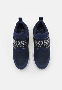 BOSS Kidswear - TRAINERS - Tenisky - navy - 3
