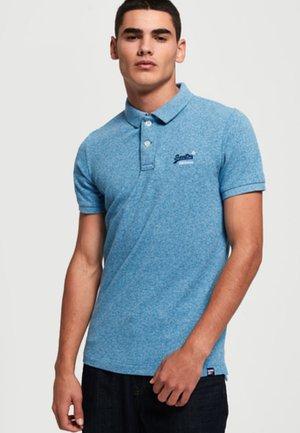 Polo - blue/off-white