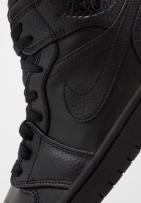 Jordan - AIR 1 MID - Sneakers hoog - black - 5