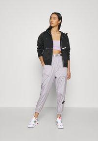 Nike Sportswear - Sweatjacke - black/metallic silver - 1