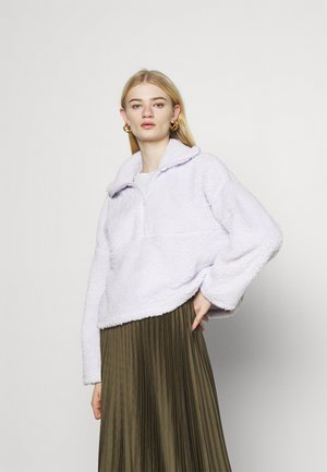 Fleece jumper - lilac