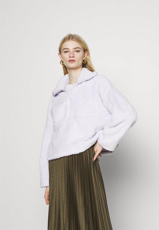 AMALIA - Bluza z polaru - lilac