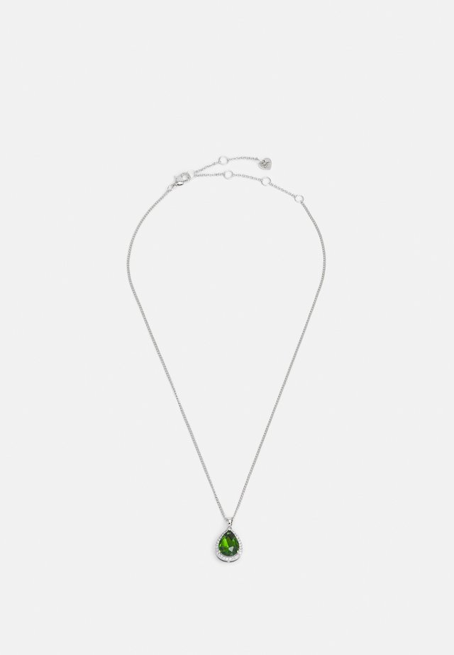 CONRADS - Ketting - emerald/clear