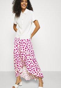 Fabienne Chapot - CORA SKIRT - Zavinovací sukně - white/pink - 3