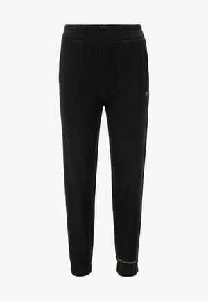 C_EJOY_ACTIVE - Tracksuit bottoms - black