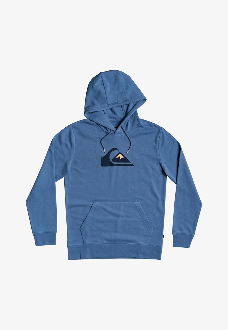 Quiksilver - COMP LOGO HOOD - Hoodie - captains blue
