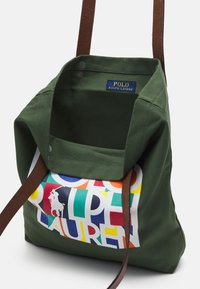 Polo Ralph Lauren - TOTE LARGE - Tote bag - olive - 2